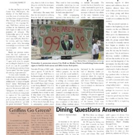 The Griffin, November 2011, Volume 2.4