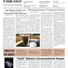 The Griffin, September 2012, Volume 3.1